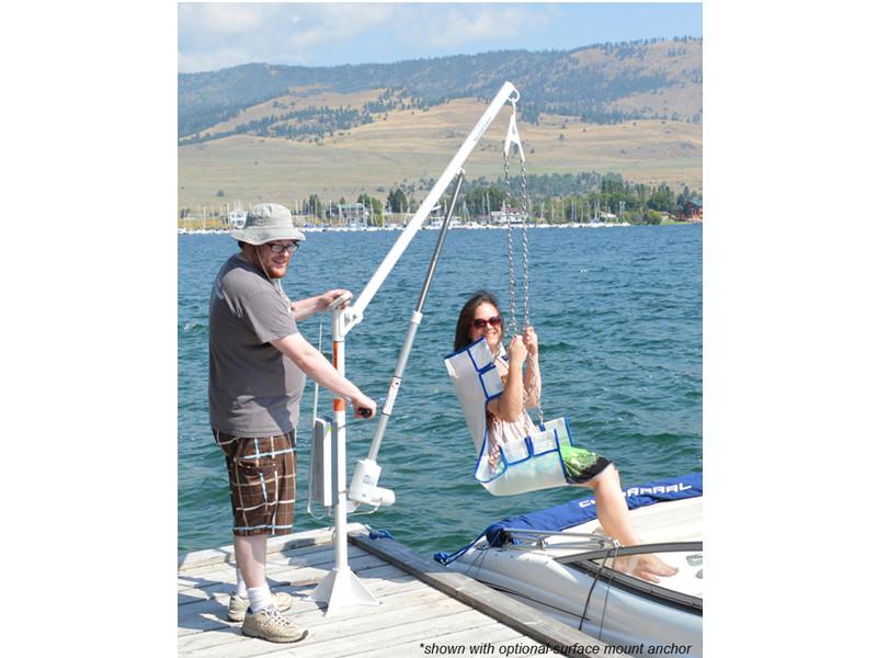 Aqua Creek Power Ez Pool Lift Boat Access No Anchor