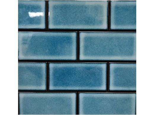 Cepac Tile Continental Subway 3x6 Series Pacific Blue