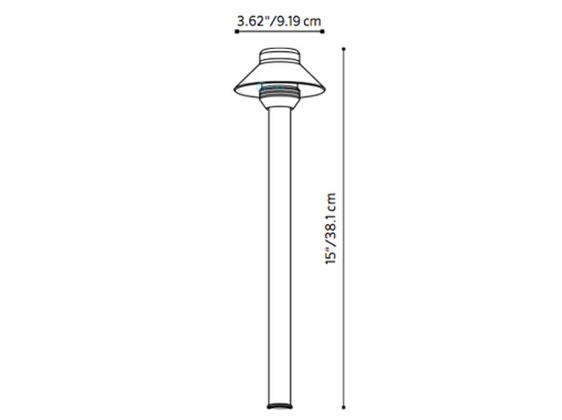 Fx Luminaire Saguaropetite 174 Path Light 12 Quot Riser