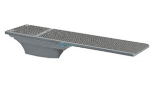 SR Smith Flyte-Deck ll Stand with TrueTread Board Complete | 8' Gray with Gray Top Tread | 68-207-73820G