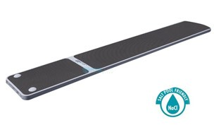SR Smith TrueTread Series Diving Board | 6' Gray with Gray Top Tread | 66-209-576S20G