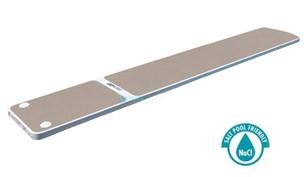 SR Smith TrueTread Series Diving Board | 8' White with Tan Top Tread | 66-209-578S2T