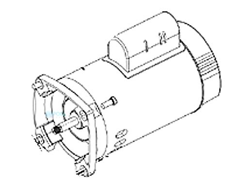Pentair Square Flange Motor