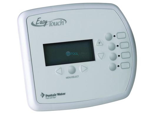 pentair easytouch indoor control panel 520548 rh poolsupplyunlimited com pentair easytouch 8 manual pdf pentair easytouch 8 with salt manual