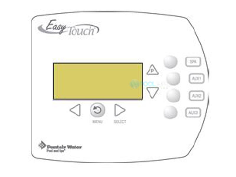 Pentair EasyTouch Indoor Control Panel   4 Circuit Systems   520548