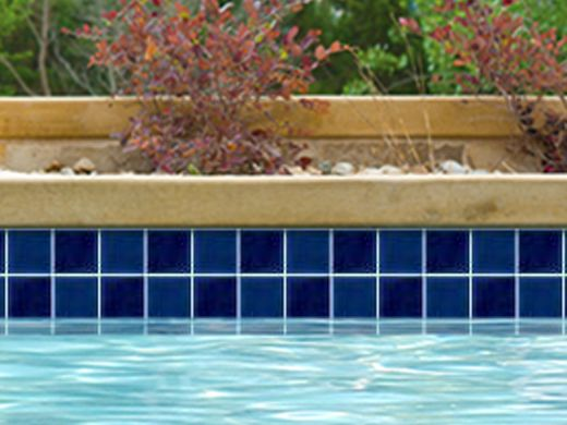 National pool tile discovery field 3x3 series royal blue for Pool show discovery
