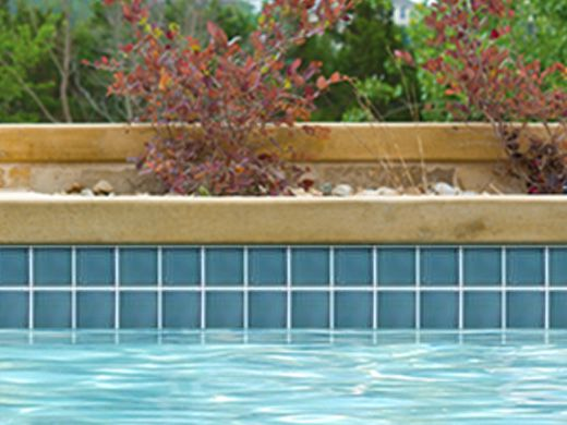 National pool tile discovery field 3x3 series marine for Pool show discovery