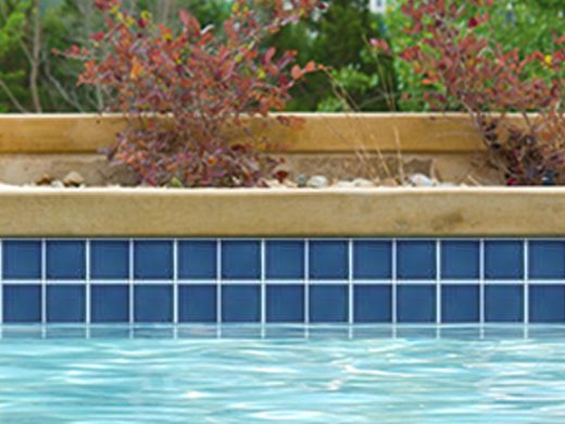 National pool tile discovery field series caribbean blue for Pool show discovery