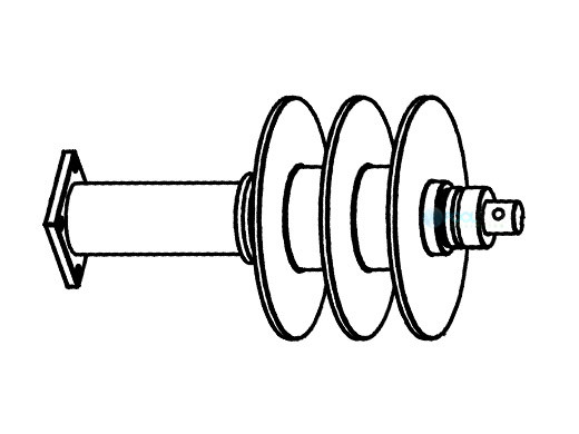 coverstar rope reel drive assembly cs3000 deck left ug