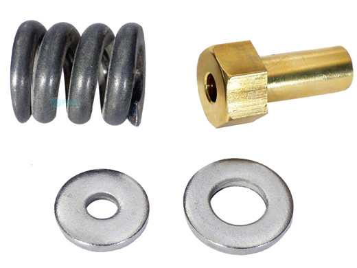 metalblock Spring Barrel Nut Assembly Compatible with Pentair Pool//Spa Cartridge and D.E Filter #53108900