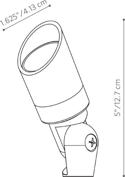 Fx Luminaire Metallopesante 174 Desert Granite Mp 20 Dg