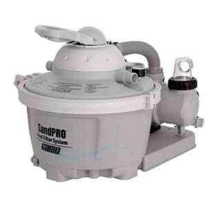 Game Sandpro Above Ground Pool Sand Filter System 5hp