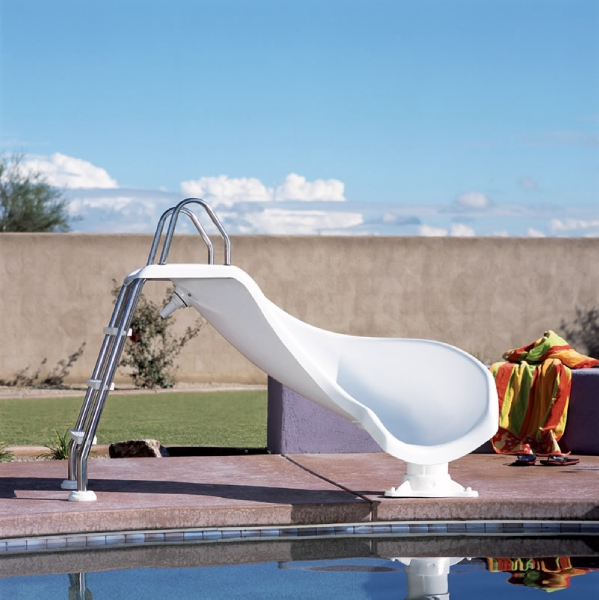 Inter Fab Zoomerang Pool Slide Right, Are There Slides For Above Ground Pools