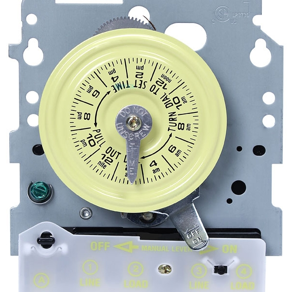 Intermatic T100m Series 24 Hour Dial Time Switch T101m