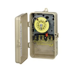 Intermatic complete timer with plastic case 120v t101p3 for Intermatic pool timer clock motor
