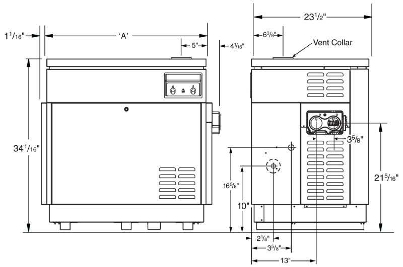 jandy hi e2 pool heater 350,000 btu natural gas dual thermostat Outlet Wiring Diagram