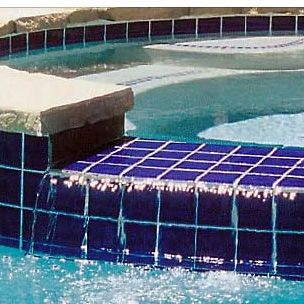 National Pool Tile Marine Field 3x3 Series Pool Tile M350