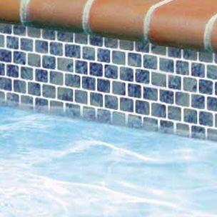 National Pool Tile Mini Koyn Series Pacific Blue Mk1341