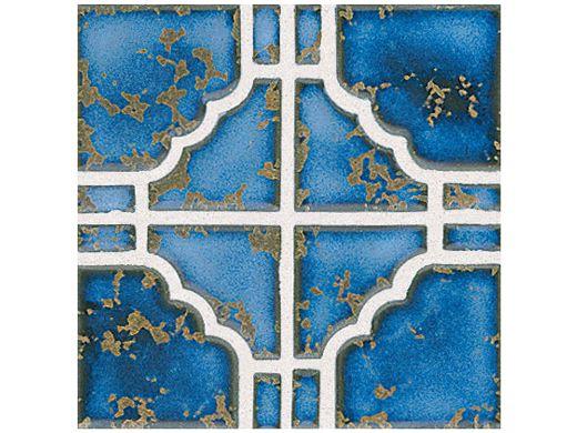 National Pool Tile Moonbeam Series Terra Blue Stb807