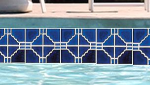 National Pool Tile Moonbeam Series Royal Blue Stb808