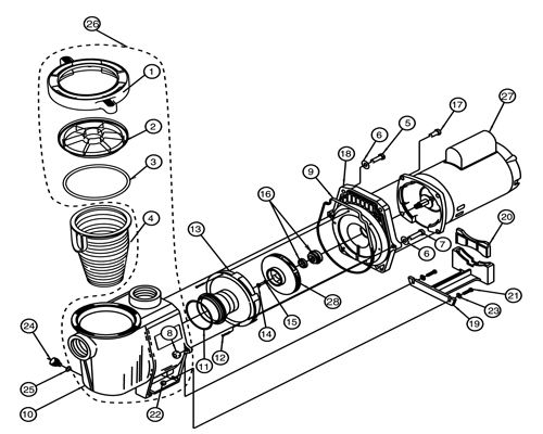 Challenger Pool Pump Wiring Diagram Ao Smith Pool Motor Wiring