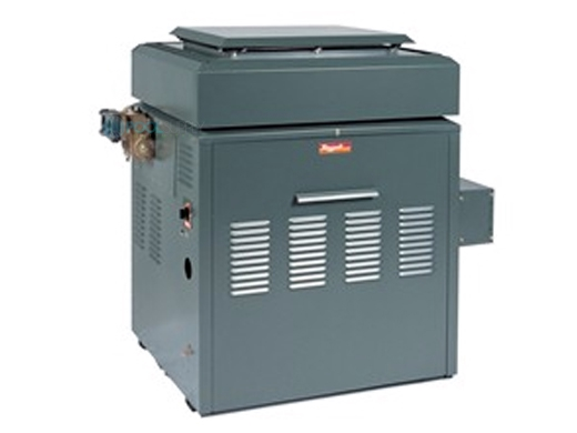Raypak Raytherm P724 Commercial Pool Heater Without Top Natural Gas 726 000 Btu 001397