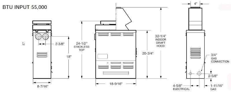 raypak versa k btu above ground spa heater  product image