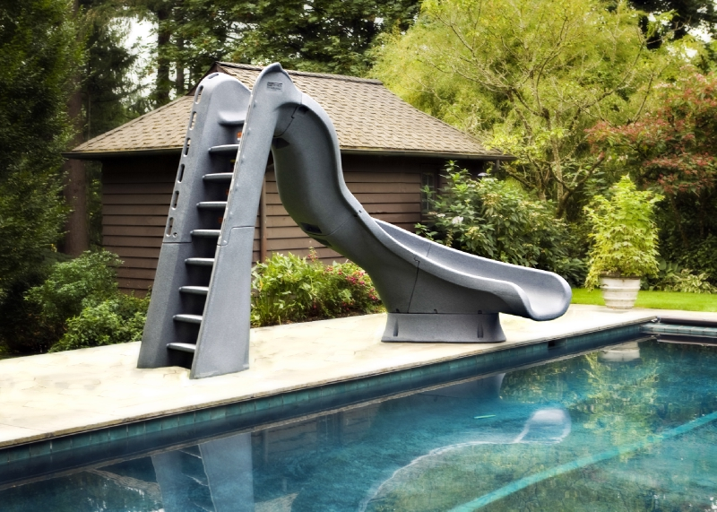Sr Smith Right Curve Typhoon Pool Slide Pool Supply