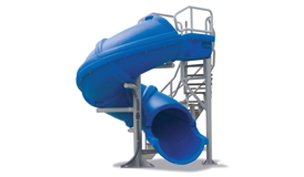 SR Smith Vortex Pool Slide | Spiral Staircase & Closed Flume | Blue | 695-209-43