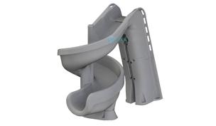 SR Smith heliX2 360 Degree Pool Slide | Gray Granite | 640-209-58124