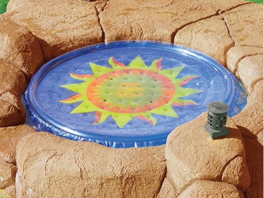 Solar Sun Rings Solar Blanket Spa Cover Sun Pattern
