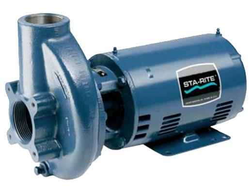 Sta rite c cc series 3hp single phase cast iron commercial for Sta rite pump motor