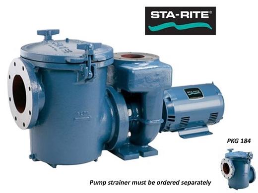 Sta rite csp series 15hp nema 3 phase cast iron pool pump for Sta rite pump motor