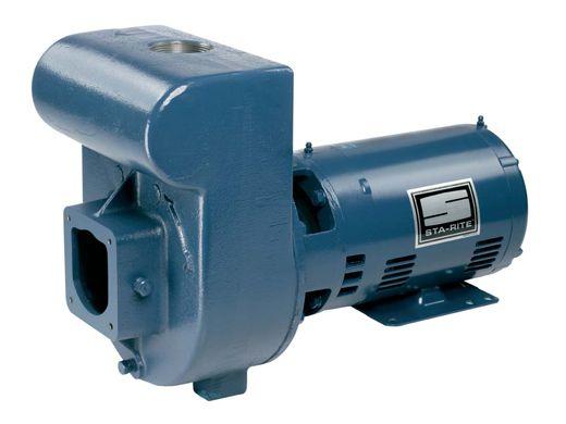Sta rite d series 5hp standard efficiency single phase for Sta rite pump motor