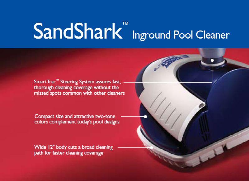 Kreepy Krauly Sandshark Inground Pool Cleaner By Pentair