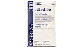 TEC Full Set Plus® Mortar |  White  | TA-381 | 33-0035-3111