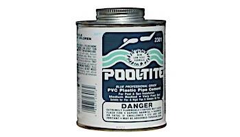 Pool-Tite Glue Blue 1qt 12/CS | 2336S