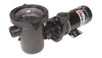 Waterway Hi-Flo II Side Discharge 48-Frame .75HP Above Ground Pool Pump 115V | 3' Twist Lock Cord | PH1075-3
