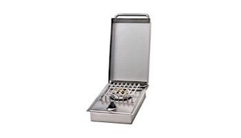 Bull Outdoor Products Single Sideburner NG | 60009