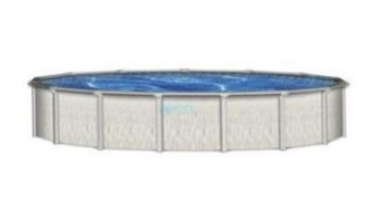 """Barbados 15' Round 52"""" Steel Wall Pool with Skimmer   Pool Only   PBAR-1552SSPSS2C"""