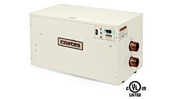 Coates Electric Heater 30kW Three Phase 208V | For Salt Water Pools | Copper Nickel | 32030PHS-CN