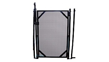 """GLI Pool Products Protect-A-Pool Inground Safety Fence Gate   4' x 30"""" Black   NE186 30-0400-BLK-GATE-CGS"""