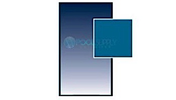 Arctic Armor 18-Year Standard Mesh Safety Cover | Rectangle 16' x 40' Blue | WS355BU