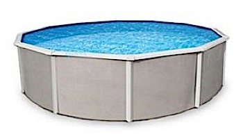 """Belize 24' Round Steel Wall Pool 48"""" Tall without Liner 