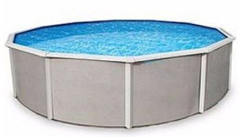 """Belize 15' Round Steel Wall Pool 52"""" Tall without Liner 
