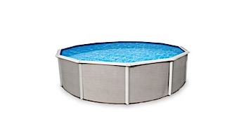 """Belize 24' Round Steel Wall Pool 52"""" Tall without Liner 