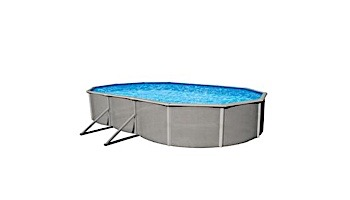 """Belize 15'x30' Oval Steel Wall Pool 52"""" Tall without Liner 