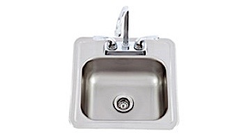 Lion Premium Grills Stainless Steel Bar Faucet And Sink | 54167