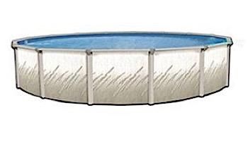 "Pretium 27' Round 52"" Steel Wall Pool Assy Only w/ Skimmer & Return   Pool Only   PPREGLX-2752SSSTSSFB0"