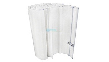 """Complete Grid Set for 48 Sq Ft Filters   24"""" Tall Grids   7 Full, 1 Partial Top Manifold Style   PFS2448 FC-9540"""